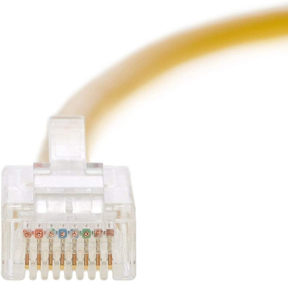 550MHZ Ethernet Cable CAT6 Cable UTP Booted 9 FT Professional Series 10Gigabit//Sec Network//High Speed Internet Cable Purple 20 Pack InstallerParts