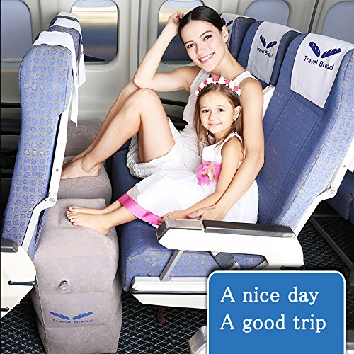 Inflatable Travel Footrest Rest Pillow product image