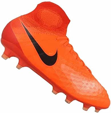 Nike Men's Magista Obra II FG Total Crimson/Black/University Red Soccer Shoes