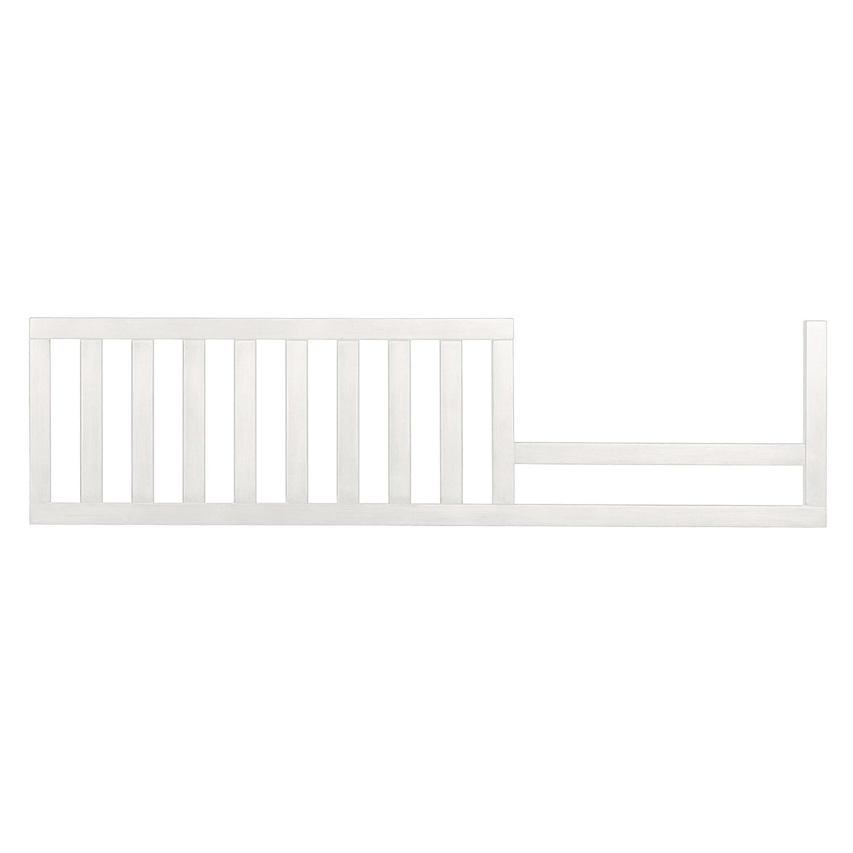 Baby bed gates - Evolur Convertible Crib Toddler Guard Rail In White 7 Pound