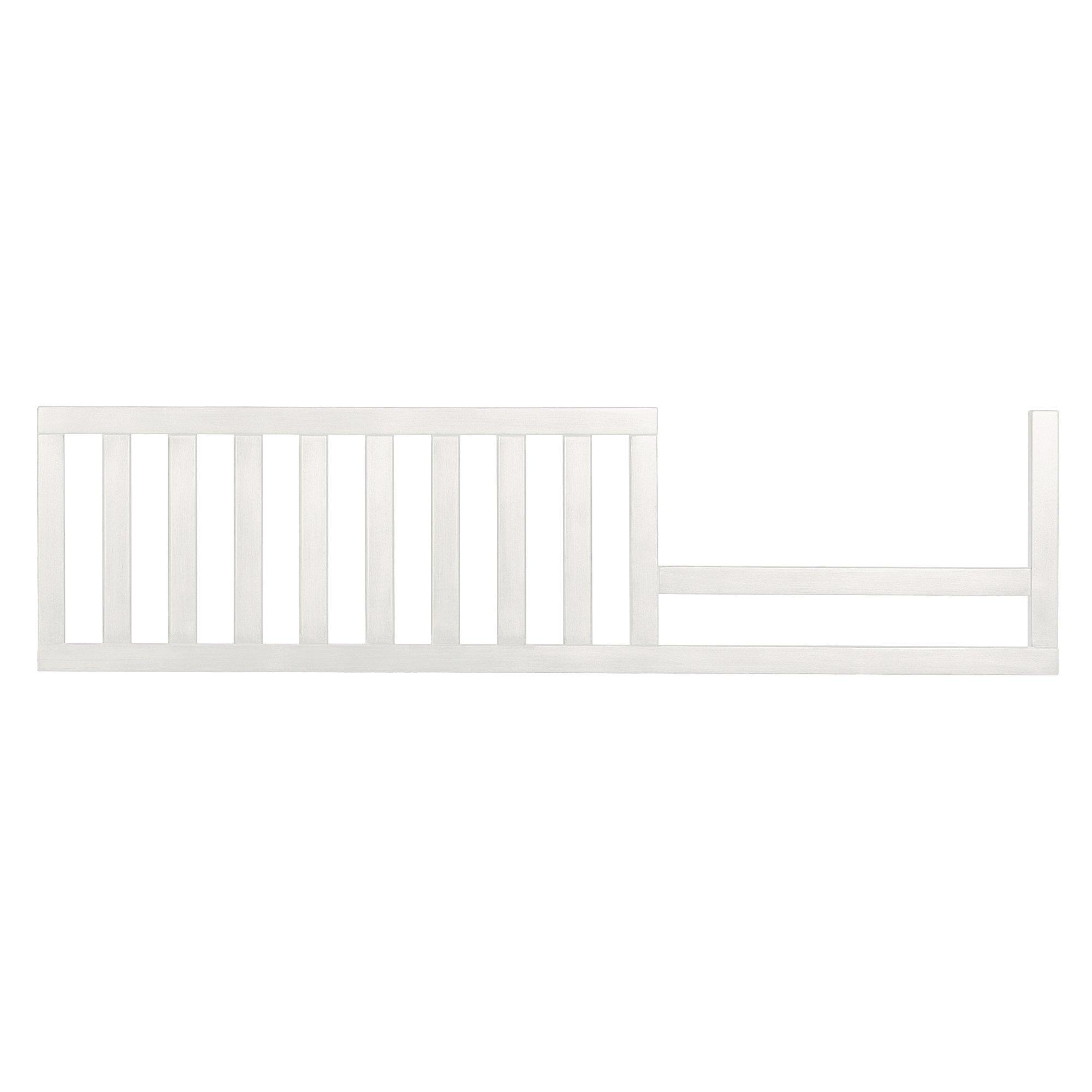 Evolur Convertible Crib Toddler Guard Rail in White,7 Pound