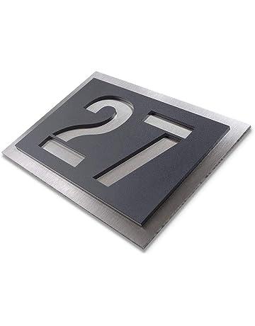 Hausnummern Hausnummern Plaketten Baumarkt Amazonde