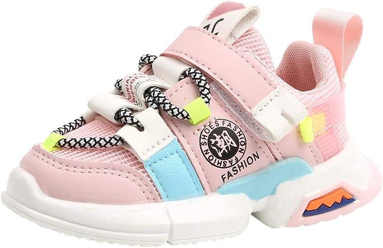 Alwayswin Turnschuhe Kinder Mädchen Jungen Mesh Sportschuhe Weiche Sohle Laufen Turnschuhe Kleinkind Baby Sneaker Bequem rutschfeste Schuhe Outdoor