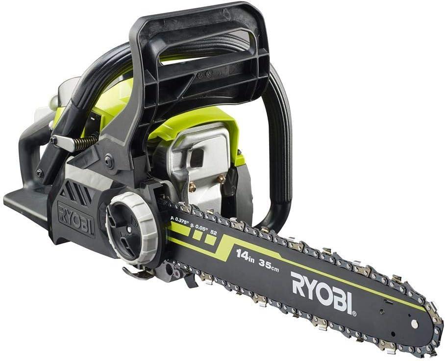 Ryobi RCS3835T RCS3835T-Motosierra (guía de 35 cm, 37,2 CC), verde