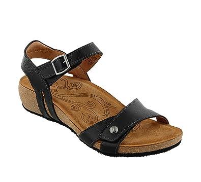 Taos Footwear Women's Sadie Black Sandal 36 M EU/5-5.5 B(M
