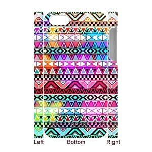 ALICASE Design Diy hard Case Aztec Tribal For Iphone 4/4s [Pattern-1]