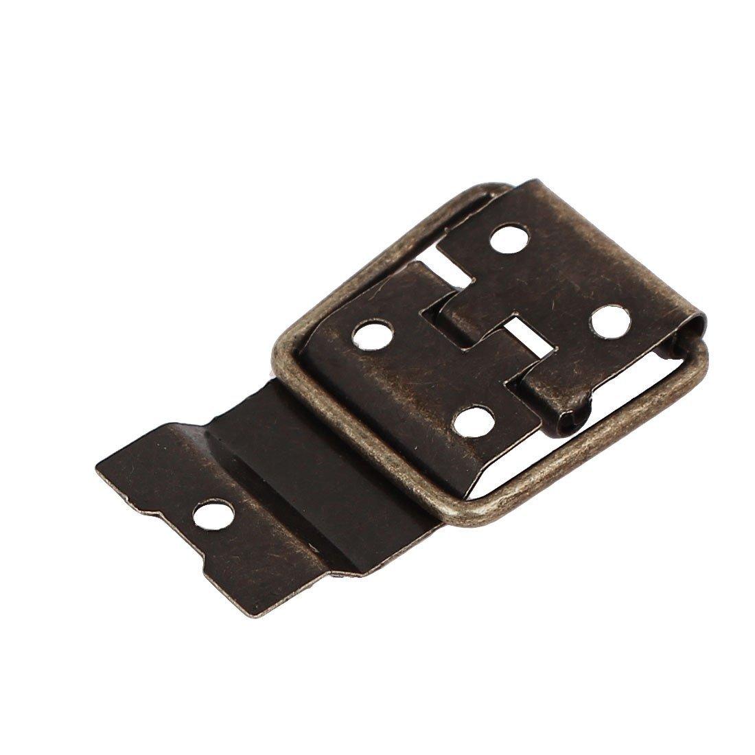 eDealMax della cassa della scatola Retro Style Posizionamento Supporto Cerniere tono bronzo 37.5mmx16.5mm 30pcs by eDealMax