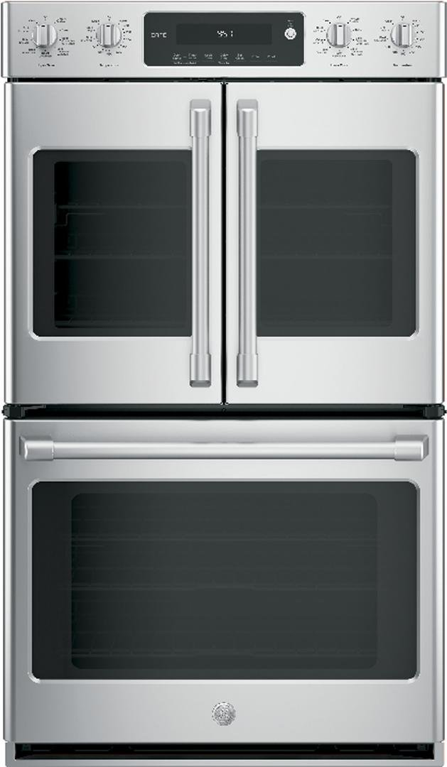 GE Cafe CT9570SLSS 30 Inch Smart 10 cu. ft. Total Capacity Electric Double Wall Oven with 6 or More Oven Racks in Stainless Steel