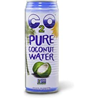 C2O Pure Coconut Water, 17.5 Fluid Ounce Containers (Count of 12)