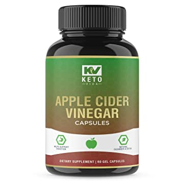 Apple Cider Vinegar Pills Natural Detox And Weight Loss For Women And Men Effective Cleanse To Help