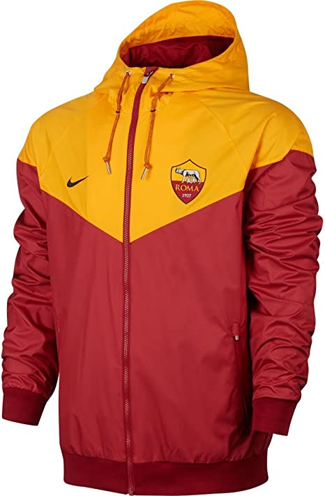 Veste Windrunner Rouge team As Nike Authentic 2017 2018 Roma