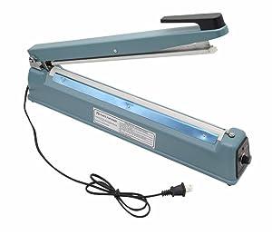 "16"" Heat Sealing Hand Impulse Sealer Machine Poly Free Element Plastic Sealer"