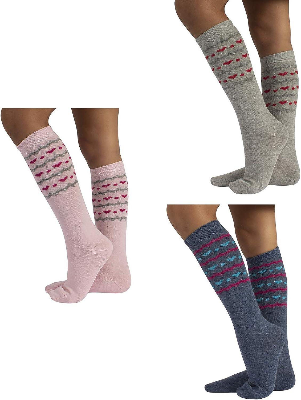 cotton 5 pairs of girls//boys long socks Footstar EVERYDAY KIDS Knee Socks