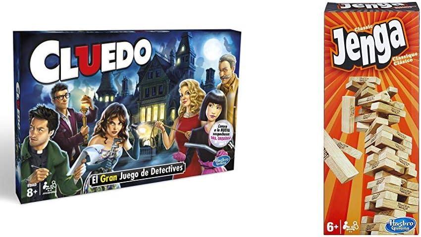 Hasbro Gaming - Cluedo (Hasbro 38712521) (versión en portugués): Amazon.es: Juguetes y juegos
