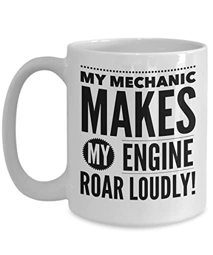 Mechanic Mug Funny Gifts For Men