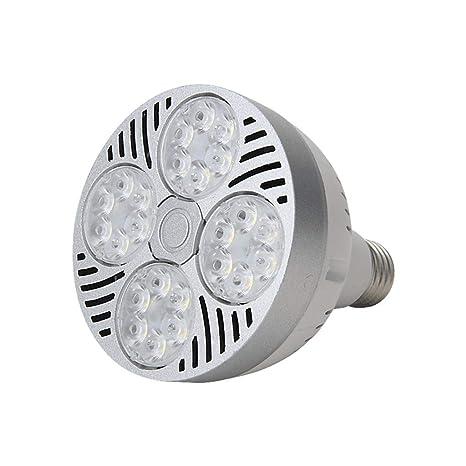 Bombilla LED PAR30 de 35 W de alta potencia, 30 focos, bombilla LED de