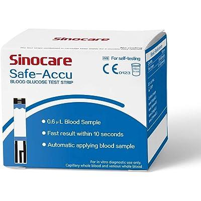 50 tiras reactivas para medidor de glucosa en sangre Safe Accu