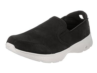24c10b8459ec9 Skechers Go Walk 4 Deliver Mens Slip On Walking Sneakers Black/Gray ...