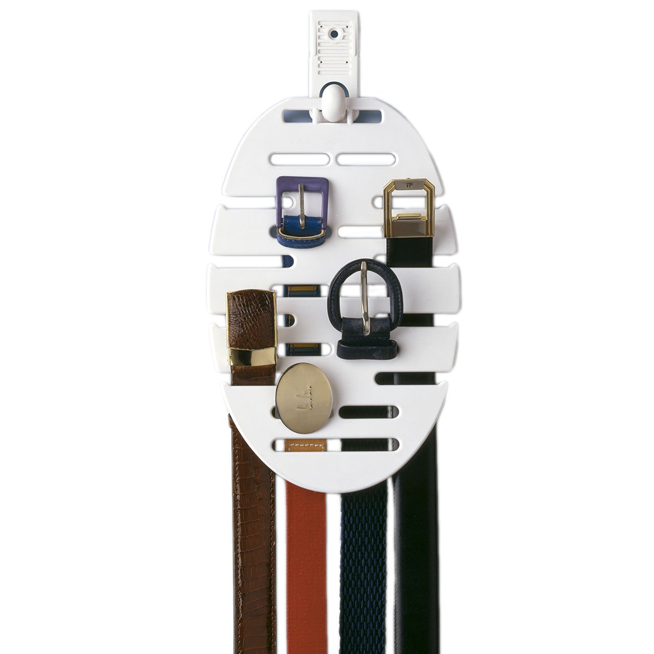 Rayen 2204 Belt Hanger with Self-Adhesive Bracket for 20 Belts