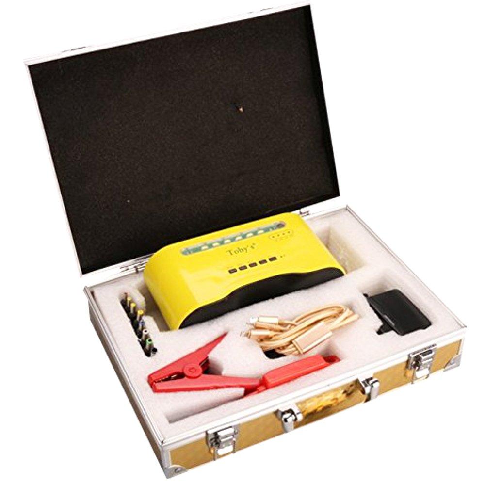 車車ジャンプスターター12000 mAhパワーバンク充電器Bluetoothスピーカー5000 A B01NCJO20Q