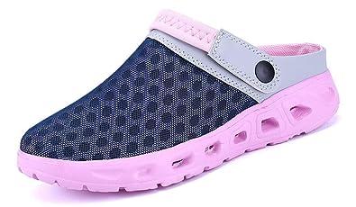 nouveau style 0bb92 9e42e Femmes Hommes Chaussures d'été Respirante Sandales Pantoufle de Plage