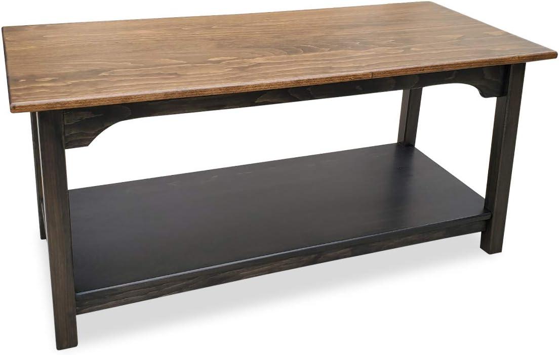 Amazon Com Wood Shaker Coffee Table Amish Furniture Farmhouse