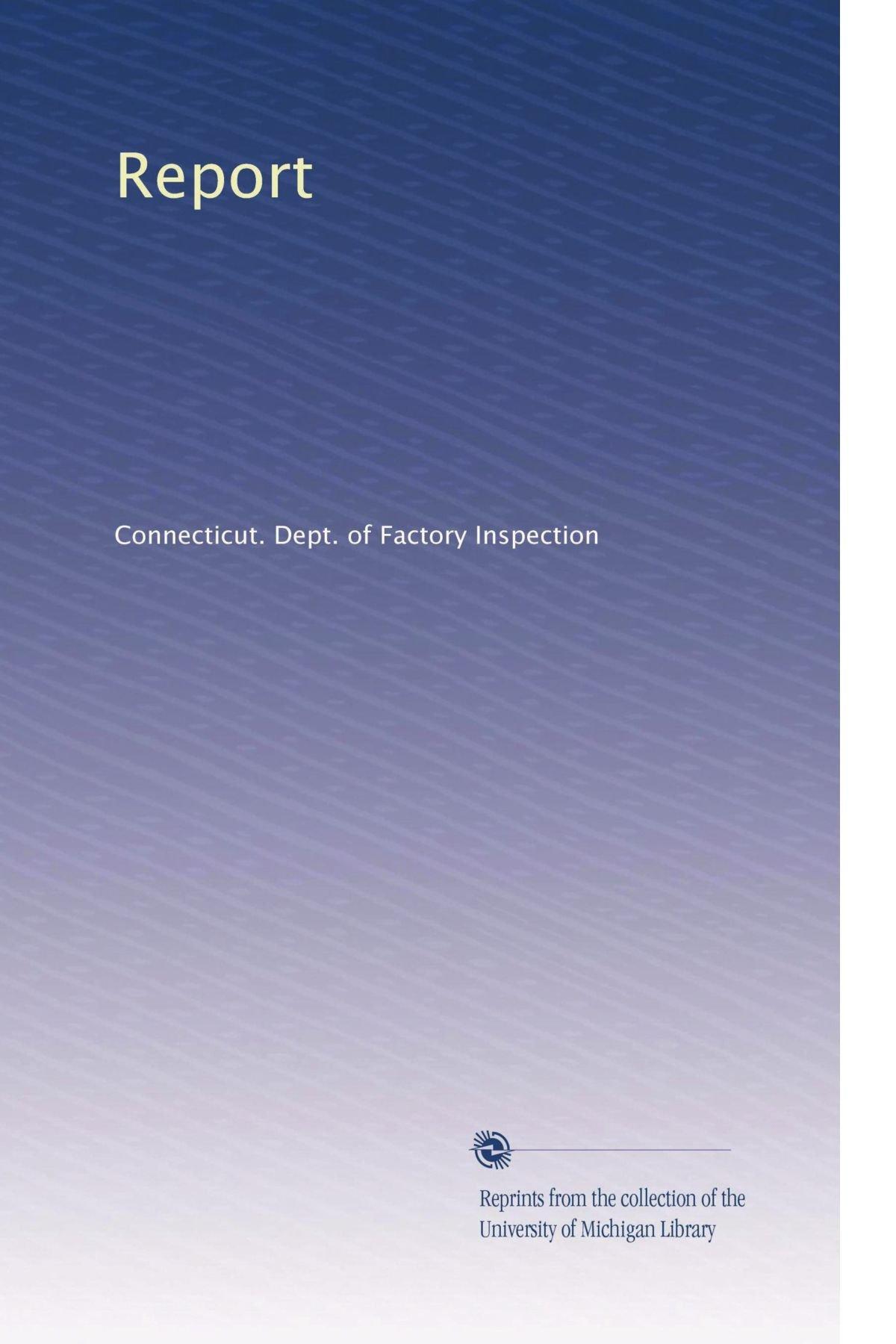 Download Report (Volume 24) pdf epub