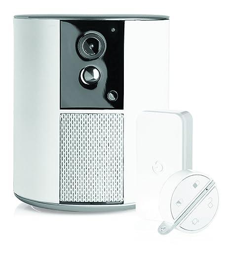 SOMFY 2401493 Alarma, Cámara y Detector de Movimiento, Blanco