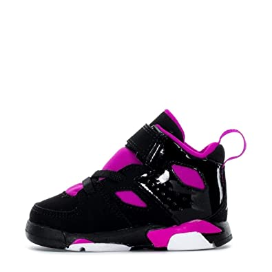 8992d2dad3c NIKE Jordan Infant Flight Club 91 Baby Girls Fashion-Sneakers AO2672-028 9C  - Black