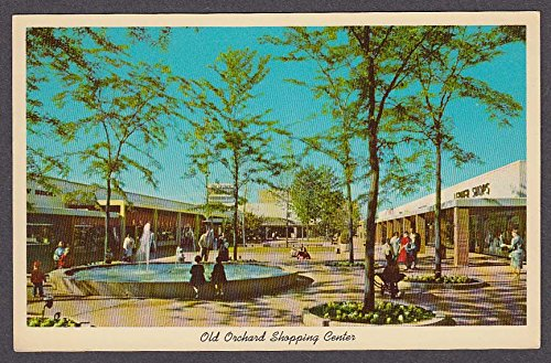 Old Orchard Shopping Center Skokie IL postcard - Shopping Orchard Center The
