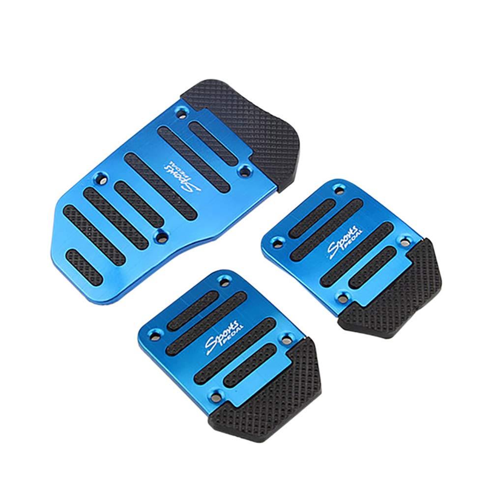 Antideslizantes Lin XH Juego de Pedales Antideslizantes para Pedal de Coche de Aluminio