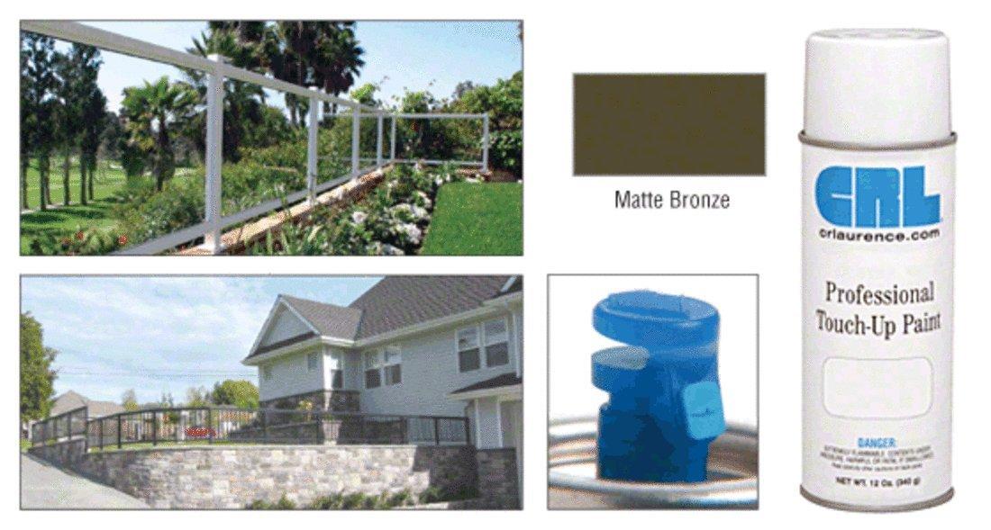 CRL Matte Bronze Touch-Up Paint - 12 oz Can