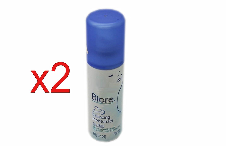 Biore Balancing Spray Face Moisturiser OIL FREE for Sensitive/Combo Skin 100g Pack of 2