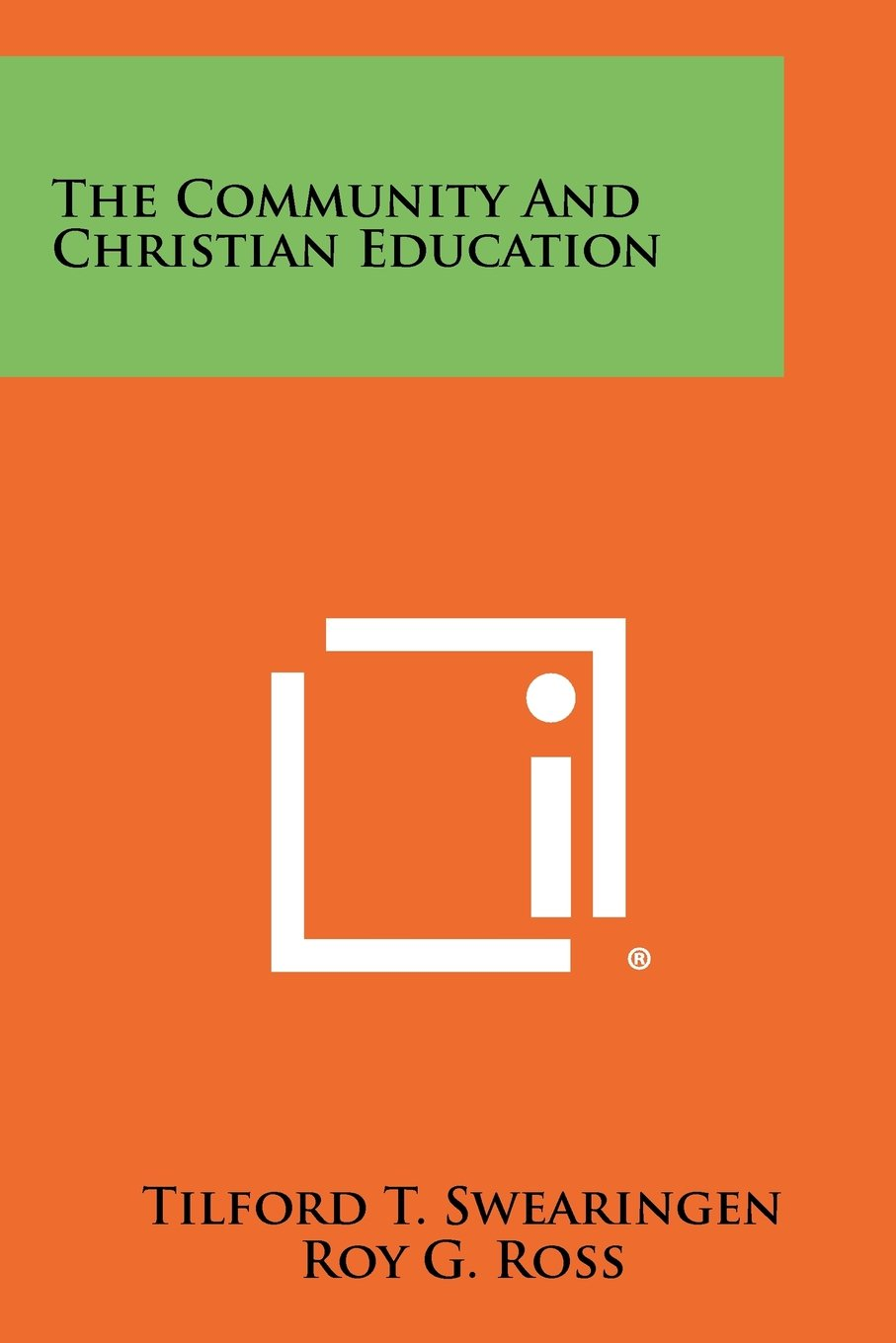 Read Online The Community And Christian Education pdf