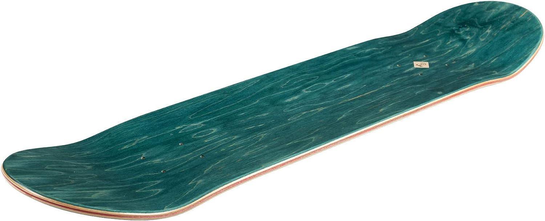 White Inpeddo x Forvert Skateboard Deck I See France 8.125