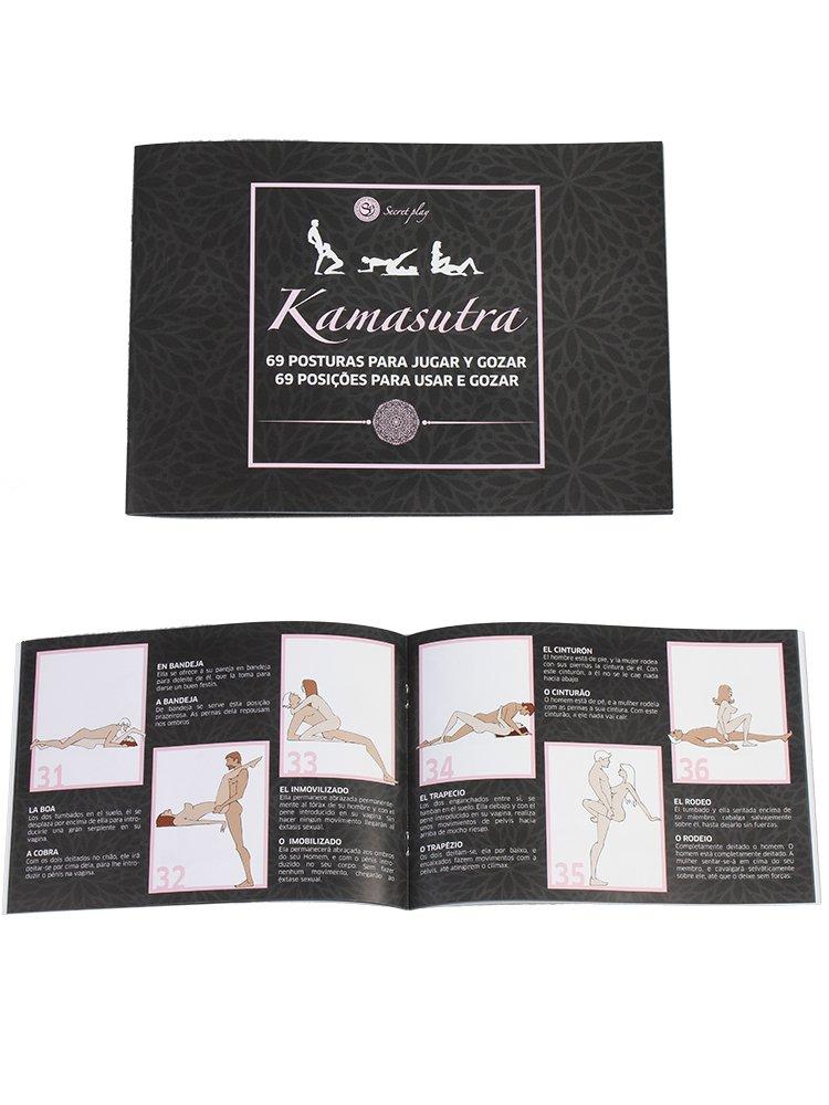 Secret Play FEM020 Libro ilustrado con las 69 posturas del Kamasutra - 75 gr: FEMARVI: Amazon.es: Salud y cuidado personal