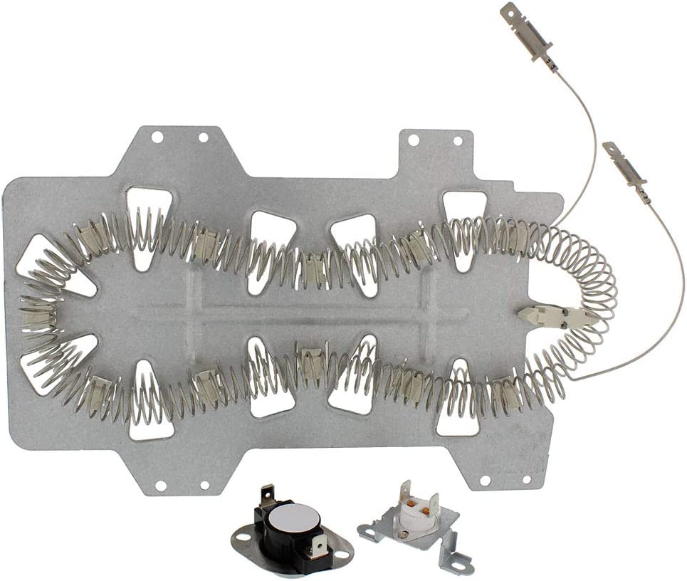PRYSM Dryer Heating Element and Thermostat Kit for Samsung Part #: DC47-00019AKIT