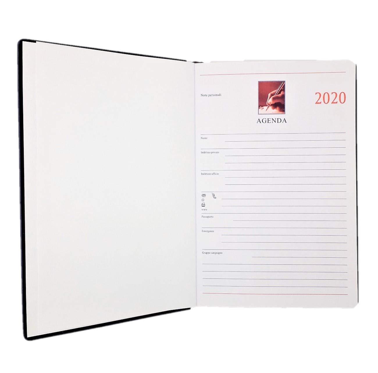 LAGOM 2020 - Agenda diaria profesional, tapa dura, 12 meses ...