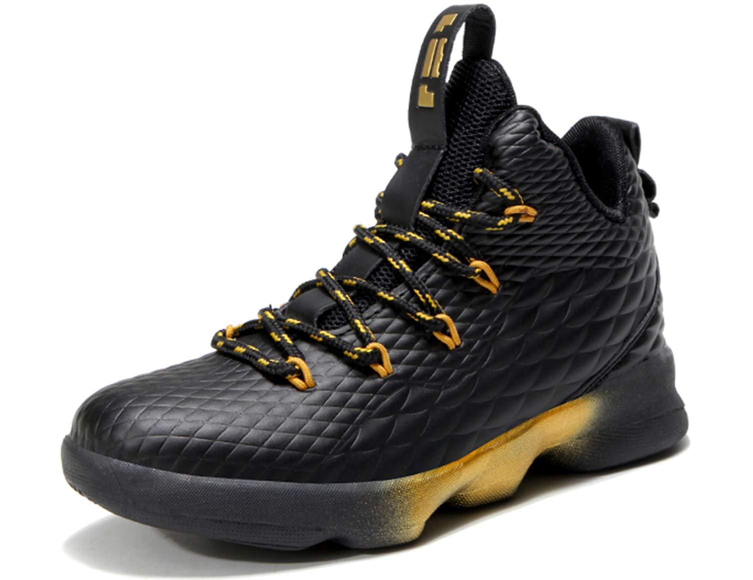 4a39cab6 SINOES Hombre Mujer Zapatillas de Baloncesto Calzado Deportivo Al Aire  Libre High-Top Sneaker Antideslizante