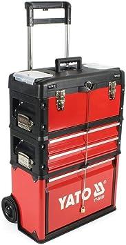 YATO YT-09101 - caja de herramientas carro compone de 3 partes ...