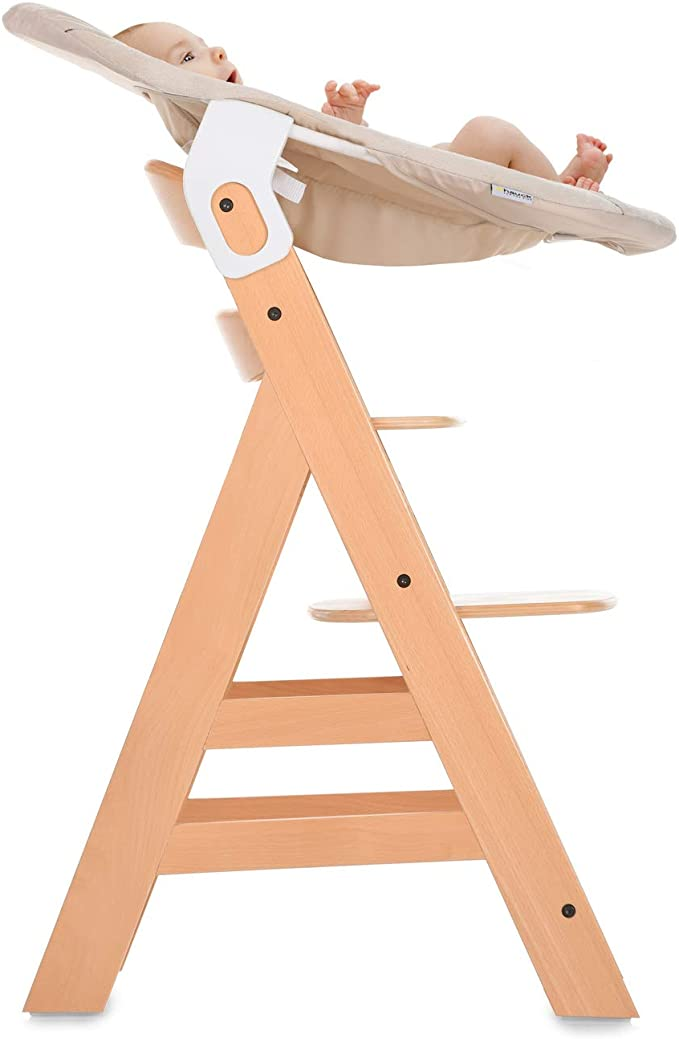 Seat Minimizer Compatible with Hauck Wooden Grow-Along High Chair Alpha+ Cosy Baby Rocker from Birth Beta+ Hearts Beige Hauck Alpha Bouncer 2-in-1 Newborn Set