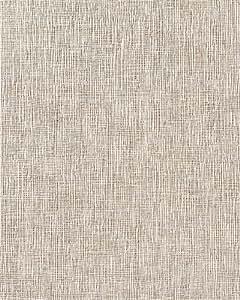 Papel pintado con textura de tela de lino en vinílico EDEM 228-41 espumado marrón claro café beige arena blanco 15 m