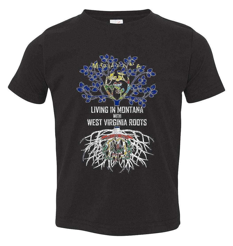 Tenacitee Babys Living in Montana West Virginia Roots Shirt