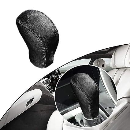 Amazon com: Maite Hand Sew Non-slip Leather Car Gear Shift Knob