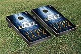 Utah Jazz NBA Basketball Regulation Cornhole Game Set Museum Version
