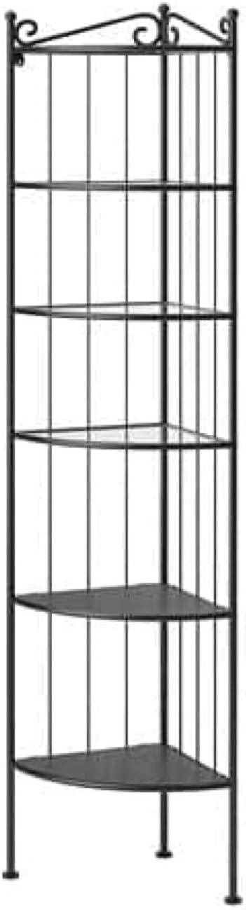 IKEA Ronnskar 600.937.65 - Estantería esquinera, color negro ...