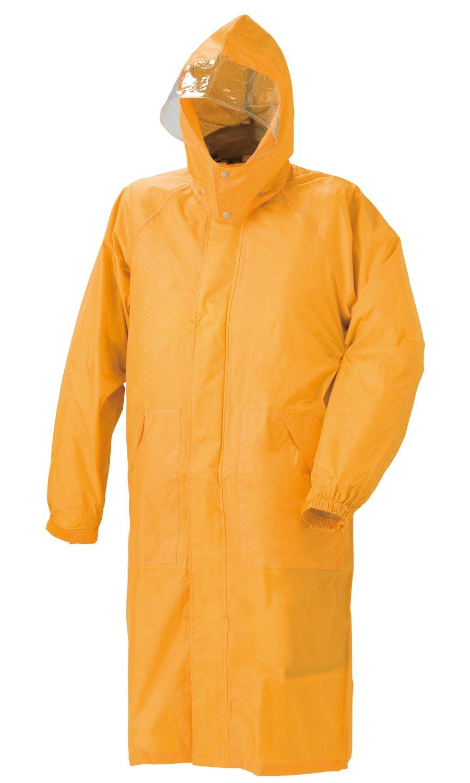 スミクラ フィールドレインパーカー 全4色 全4サイズ オレンジ M 防水 収納袋付き 反射テープ付き [正規代理店品] B019RVQEV6 Medium|オレンジ オレンジ Medium