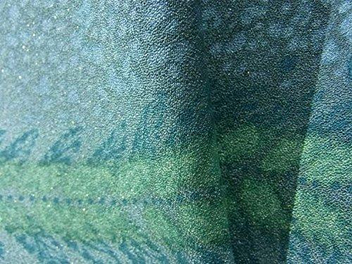 リサイクル 着物 訪問着  辻が花文様 正絹 袷 裄66.5cm 身丈160cm