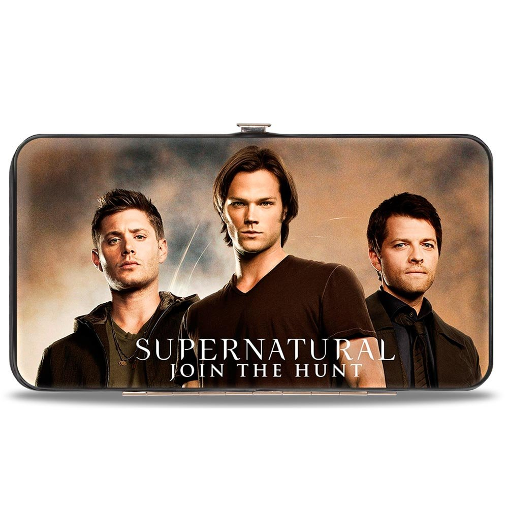 Buckle-Down Buckle-Down Hinge Wallet - Supernatural Accessory, Supernatural, 7 x 4 7 x 4 HW-SNZ