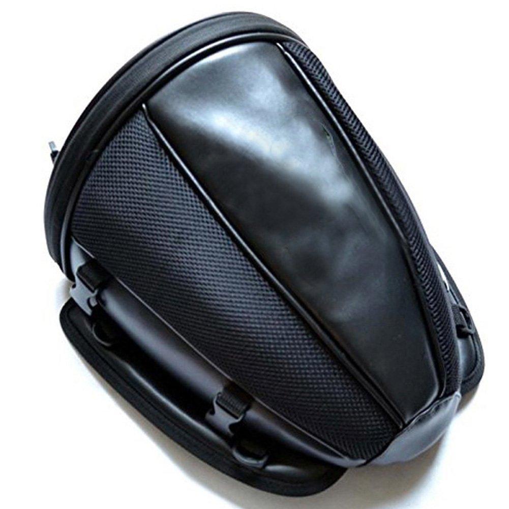 Bolsa de asiento trasero de la motocicleta Bolsas de cola impermeable para el equipaje Casco Alforja Zantec